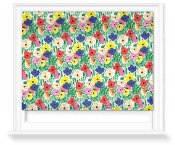 'All The Flowers' Roller Blind