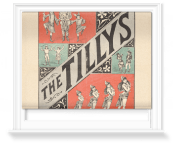 'The Tillys at the Royal Aquarium' Roller Blind