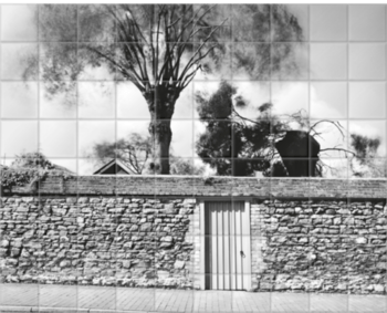'Walled Garden, Winchelsea' Ceramic Tile Mural