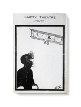 'Going Up, at the Gaiety Theatre' Canvas Wall Art