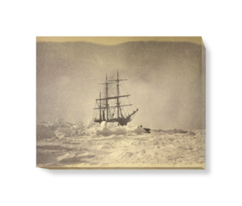 'A Ship in the Ice' Canvas Wall Art