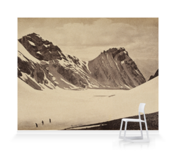 'The top of the Manirung Pass' Wallpaper Mural