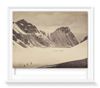'The top of the Manirung Pass' Roller Blind