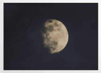 '19th century photograph of the Moon' Art Prints