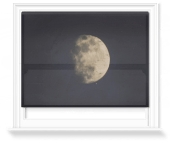 '19th century photograph of the Moon' Roller Blind