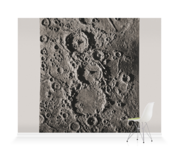 'Craters on the Moon' Wallpaper Mural