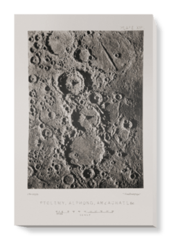 'Craters on the Moon' Canvas Wall Art