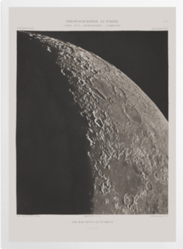 'The Moon with Schickhard and Gassendi craters' Art Prints