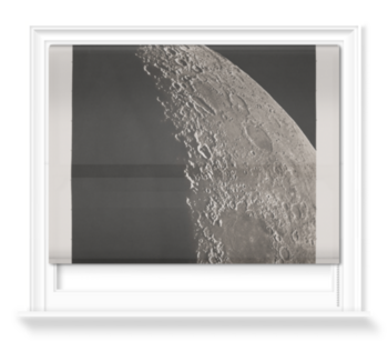 'The Moon with Schickhard and Gassendi craters' Roller Blind