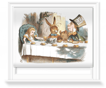 'The Mad Hatter's Tea Party II' Roller Blind