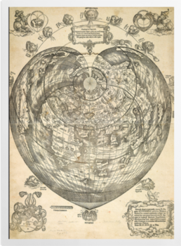 'World map, 1530' Art Prints