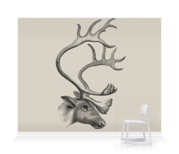 'The Caribou' Wallpaper Mural