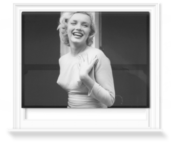 'Happy Marilyn' Roller Blind