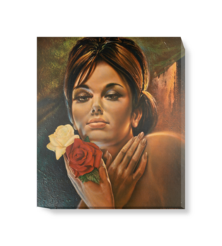 'Roses like Roses' Canvas Wall Art