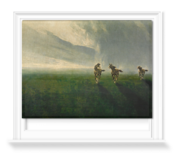 '3 Gee Gees in a Storm' Roller Blind