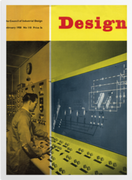 'Yellow Design 1958' Art Prints