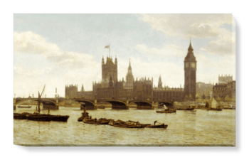 'Westminster Bridge' Canvas Wall Art