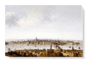 'London from Southwark' Canvas Wall Art