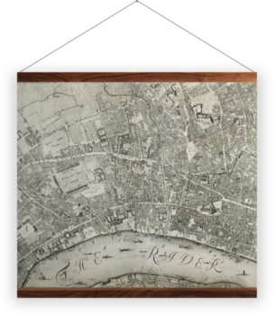 'A Prospect of London and Westminster' Wall Hanging