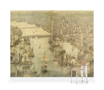 'Rhinebeck Panorama Composite' Wallpaper Mural