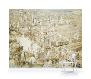 'Rhinebeck Panorama I' Wallpaper Mural
