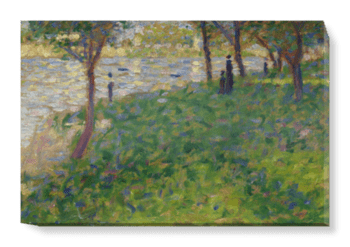 'Study for 'La Grande Jatte'' Canvas Wall Art