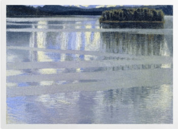'Lake Keitele' Art Prints