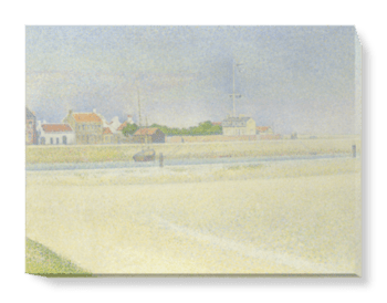 'The Channel of Gravelines' Canvas Wall Art