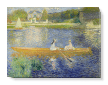 'Boating on the Seine' Canvas Wall Art
