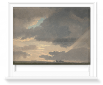 'Sunset in the Roman Campagna' Roller Blind