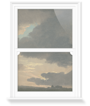 'Sunset in the Roman Campagna' Decorative Window Film