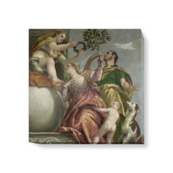 'Allegory of Love, IV ('Happy Union')' Canvas Wall Art