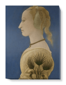 'Portrait of a Lady' Canvas Wall Art