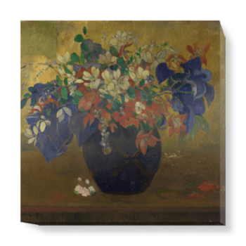 'A Vase of Flowers' Canvas Wall Art