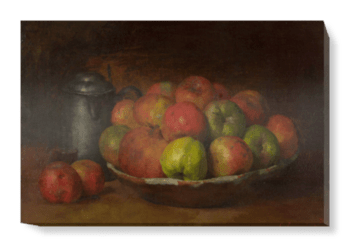 'Still Life with Apples and a Pomegranate' Canvas Wall Art