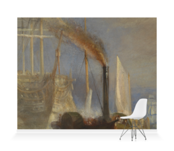 'Detail from The Fighting Temeraire' Wallpaper Mural