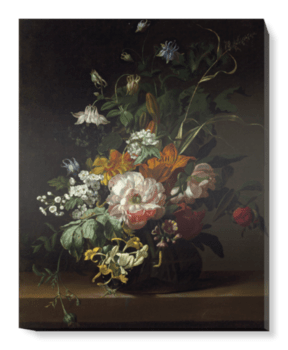 'Flowers in a Vase II' Canvas Wall Art
