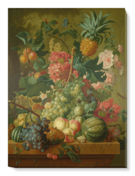 'Fruit and Flowers' Canvas Wall Art