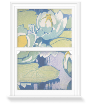 'Water Lilies' Decorative Window Film