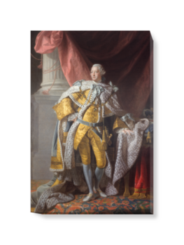 'George III' Canvas Wall Art