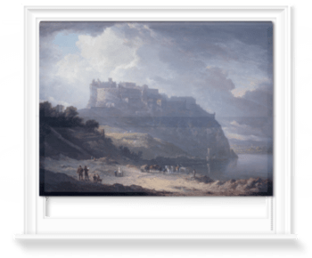 'Edinburgh Castle and the Nor' Loch' Roller Blind