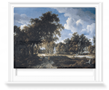 'Wooded Landscape' Roller Blind