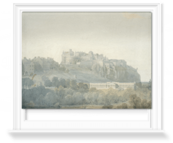 'Edinburgh Castle and the Proposed National Gallery of Scotland' Roller Blind