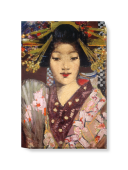 'Geisha Girl' Canvas Wall Art