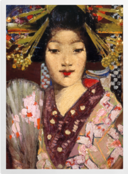 'Geisha Girl' Art Prints
