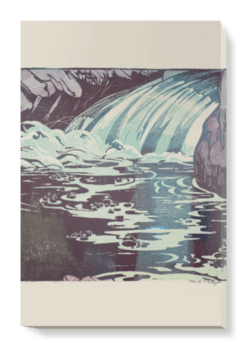 'The Waterfall' Canvas Wall Art