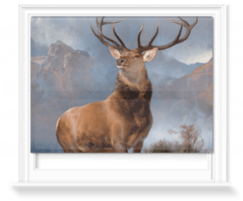 'The Monarch of the Glen' Roller Blind
