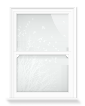 'Birds in Flight II' Decorative Window Film