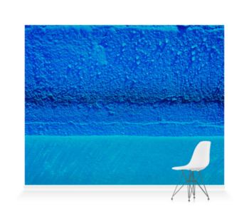 'Azure Pool Wall' Wallpaper Mural