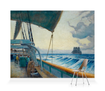 'The 'Cutty Sark' From The Deck Of The 'Birkdale'†' Wallpaper Mural